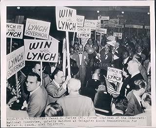 Vintage Photos 1950 Photo Rochester NY James Farley Democrat Demonstration Walter Lynch
