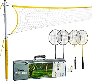 Franklin Sports Badminton – Starter, Family, Professional Sets