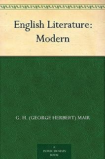 English Literature: Modern (免费公版书) (English Edition)