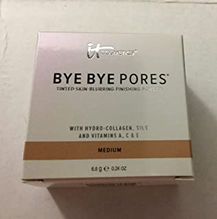 It Cosmetics Bye Bye Pores Tinted Skin-blurring Finishing Powder - Medium - .24 Oz