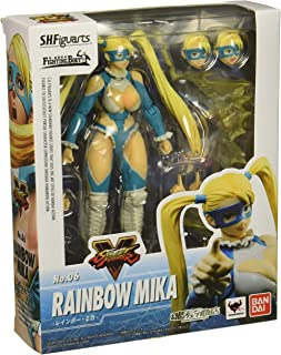 Tamashii Nations Bandai S.H. Figuarts Rainbow Mika Street Fighter V Action Figure