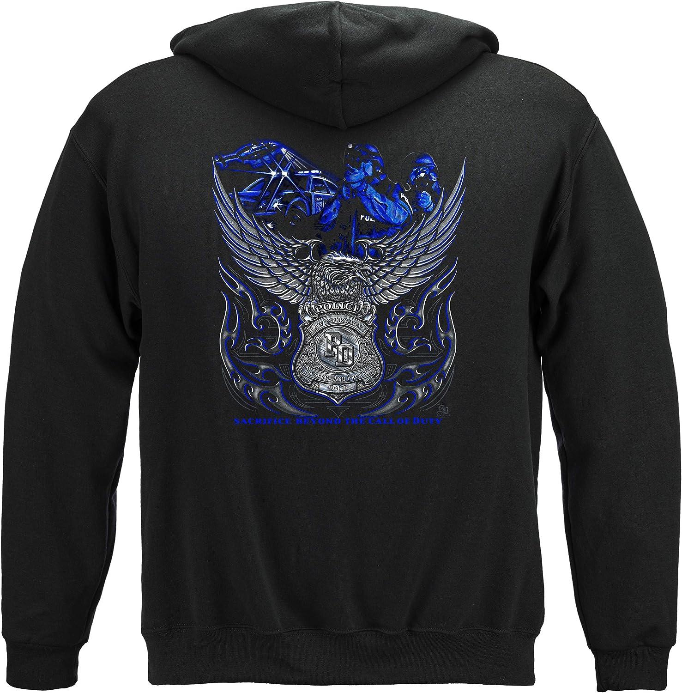 Thin Blue Line T お買得 Shirt - Enforcement Law AL完売しました Gear Men Enfo for
