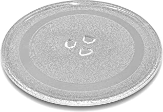 vhbw vidrio plato para microondas, plato giratorio de 24.5cm con soporte en Y para microondas Panasonic NN-GD358, NN-GD359, NN-GD368, NN-GD369