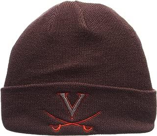 ZHATS Virginia Cavaliers Charcoal Gray X-RAY POP Cuff Beanie Hat - NCAA Cuffed Winter Knit Toque Cap