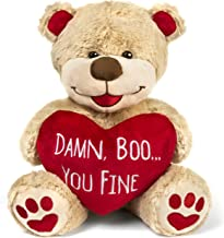 Valentines Bear - 8 Inches Tall - Funny for Girlfriend, Boyfriend, Husband or Wife