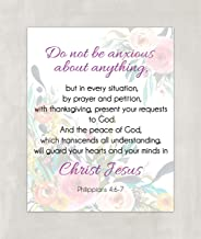 do not be anxious about anything bible verse