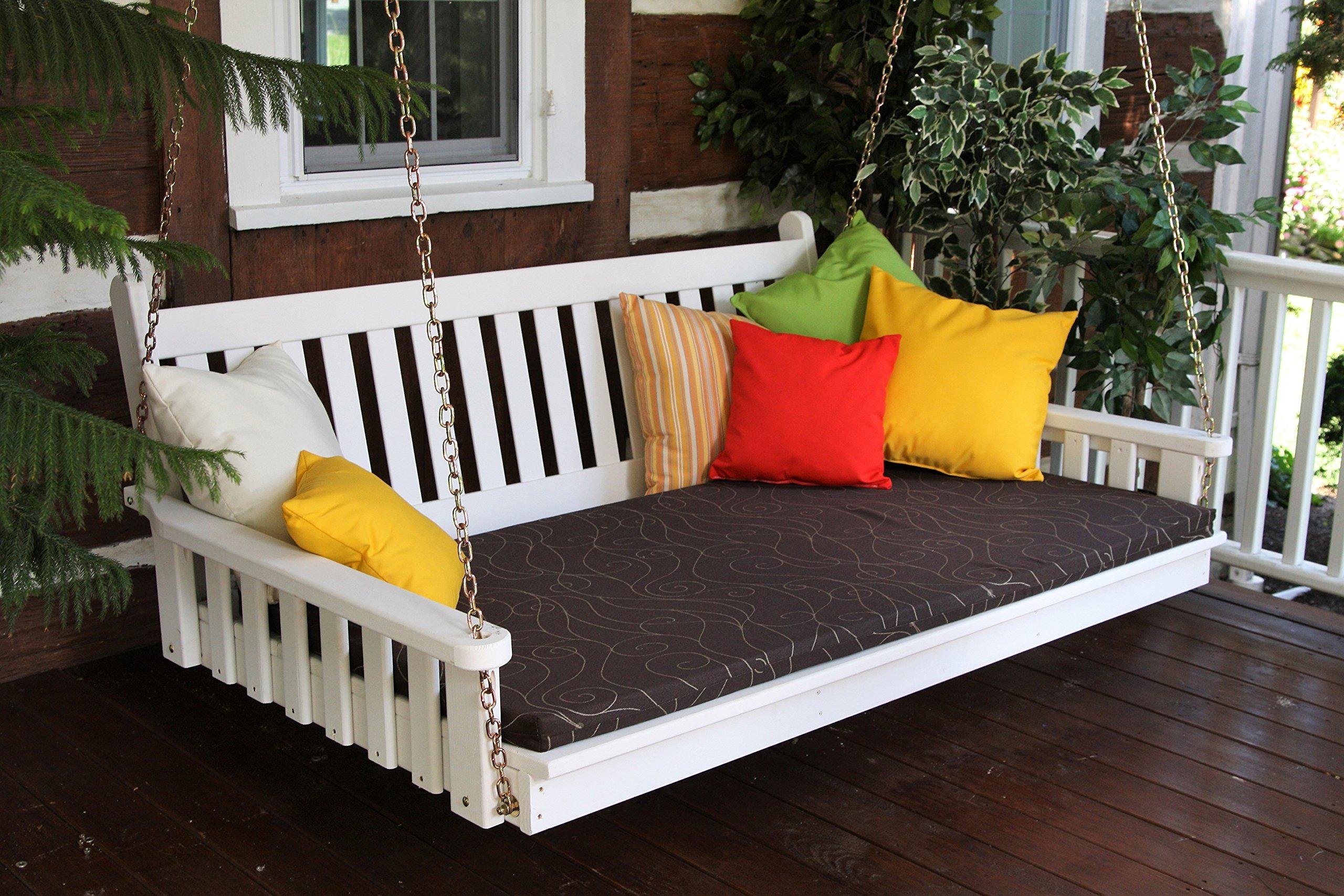 Mejor porche muebles sofá, cama Swing, Swinging de 6 Crazy Fun ...
