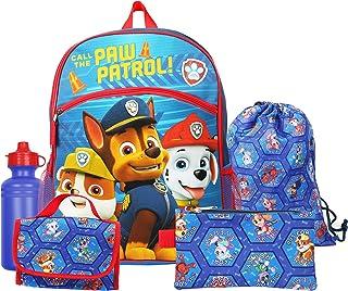 Nickelodeon Paw Patrol Boys Blue 41cm Backpack Essentials Set