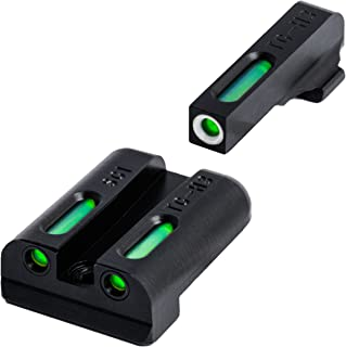 TRUGLO TFX Sig #8/#8 Set Tritium/Fiber-Optic Day/Night Sight, Green