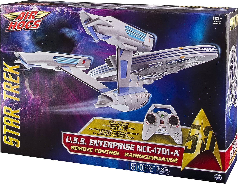 más descuento Spin Master Air Air Air Hogs Estrella Trek Enterprise - Juguetes de Control Remoto (AA, 250 mm, 400 mm, 458 mm, 134 mm, 305 mm)  autentico en linea