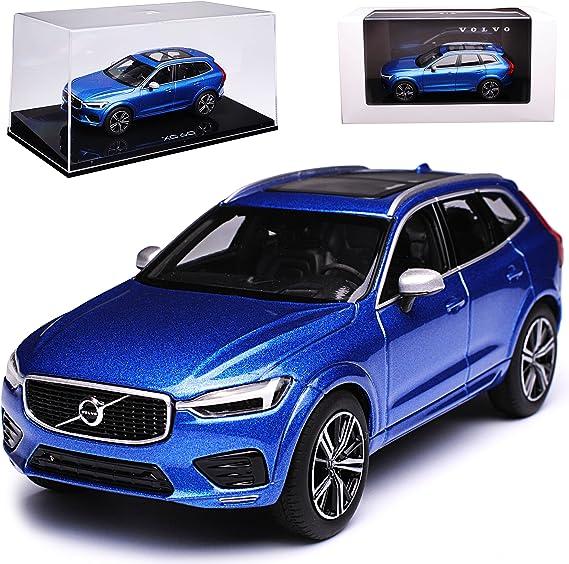 Kyosho Volvo Xc60 Ii Spa Suv Bursting Blau 2 Generation Ab 2017 1 43 Modell Auto Mit Individiuellem Wunschkennzeichen Spielzeug
