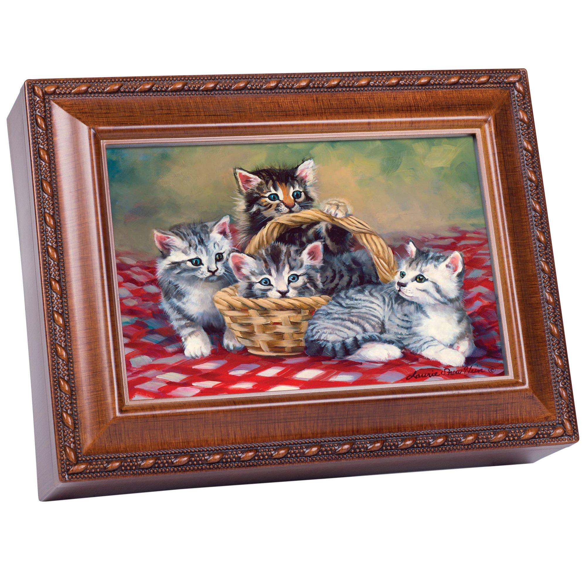 Image of Amazingly Cute Little Kittens Music Box