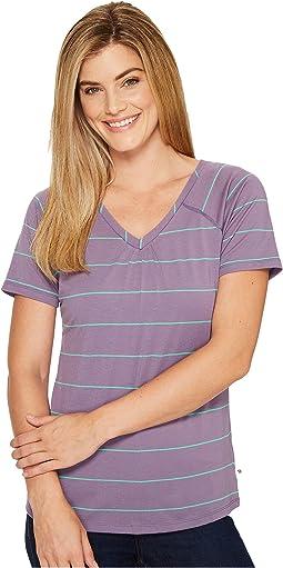 DrySpun Stripe Short Sleeve Shirt