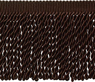 Style# SF0150 Color: Brown DB2 D/ÉCOPRO 11 Yard Value Pack of Decorative Mocha Scallop Fringe Gimp Braid 33 Ft. // 10 Meters 1.5 Inch