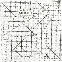 Sew Kind Of Wonderful 96 Sew Square 6 6, None