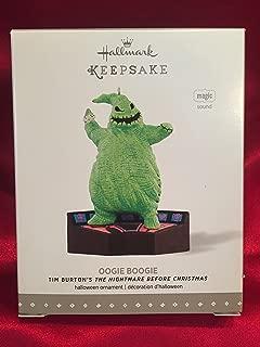 1 X Disney Tim Burton's The Nightmare Before Christmas - Oogie Boogie Halloween Ornament 2015 Hallmark