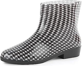 Ladeheid Bottines Bottes de Pluie Chaussure Femme LAZT201802