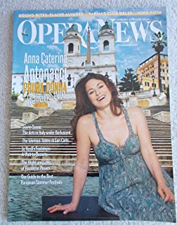Opera News June 2011: Feature Anna Caterina Antonacci: Prima Donna Italian Style