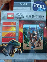 LEGO Kids Jurassic World Silky Soft Throw Blanket