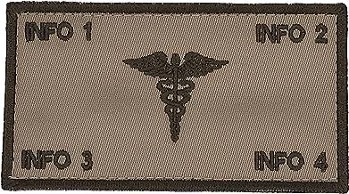 TacticalStitches.com Flak Identification Patch/Tag CORPSMAN (V2)