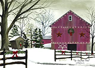 Performing Arts Full Color Inside The Christmas Barn Stationery Paper, 52661-18