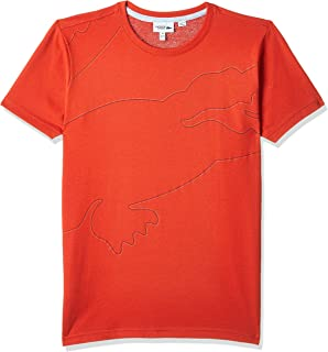 Lacoste Boy's Boy Outlined Croc Tee Shirt T-Shirt
