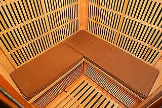 Radiant Saunas SA7002 3-Person Sauna Seat Cushion, One Size, Brown