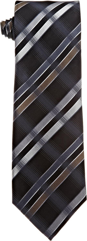 Kenneth Cole REACTION Men's 55% OFF Oxnard Grid Max 62% OFF Necktie