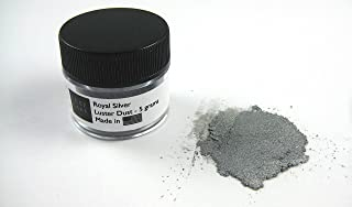 Royal Silver Luxury Cake Dust, 5 grams, USA Made
