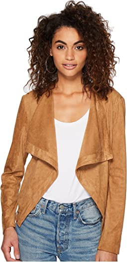 BB Dakota Arly Faux Suede Jacket