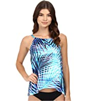 Miraclesuit - Palm Reader Peephole Tankini Top