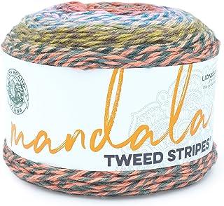 Lion Brand Yarn Company 552-219 Mandala Tweed Stripes Yarn, Cats Eye