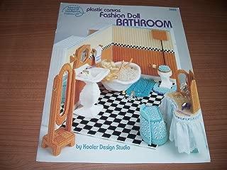 Plastic Canvas Fashion Doll Furniture -Bathroom