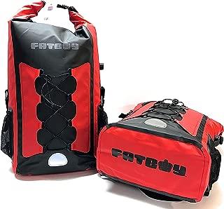 Fatboy Kayak and Canoe Backpack Soft Cooler, Cardinal Red