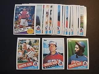 Chicago White Sox 1985 Topps Baseball Team Set (34 Cards) (Tom Seaver) (Harold Baines) (Carlton Fisk) (Tony LaRussa)