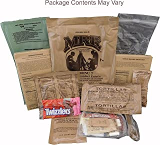 Beef Brisket MRE Meal - Genuine US Military Surplus Inspection Date 2020 and Up