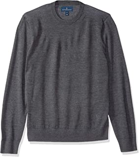 Buttoned Down Men's Italian Merino Cashwool Crewneck Sweater