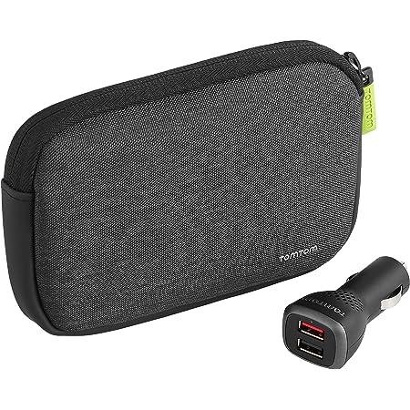 Tomtom Premium Pack V2 Universaltragetasche Plus Dual Fast Charger Softtasche Für 4 3 Und 5 Zoll Geräte Plus Dual Fast Charger Elektronik