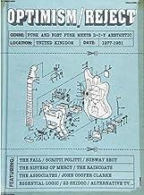 オプティミズム/リジェクト~パンク・アンド・ポスト・パンク・ミーツ・DIYエスセティック1977-1981