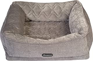 Beautyrest Ultra Plush Quilted Cuddler Dog Bed
