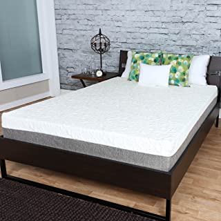 Travel Happy (Custom Size Requests) with A 10 INCH Any King Size New Cooler Sleep Graphite Gel Memory Foam Mattress with Premium Textured 8-Way Stretch Cover Made in The USA