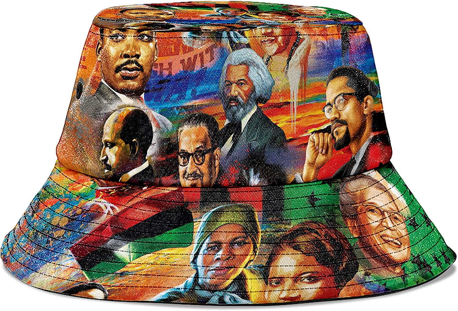 Melaninful Bucket Challenge the lowest price of Japan Hat African Pattern Raleigh Mall All Culture