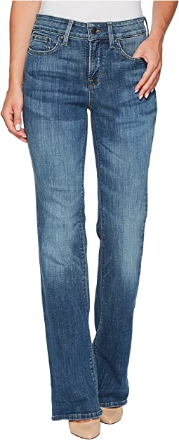 NYDJ Barbara Bootcut Jeans in Crosshatch Denim in Newton