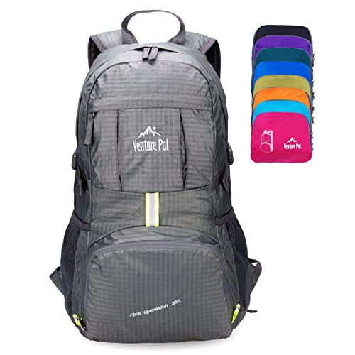Venture Pal Lightweight Packable Durable Travel Hiking Backpack Daypack 21c26a004255c