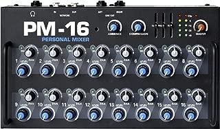 Elite Core PM-16 16-Channel Personal Monitor Mixer