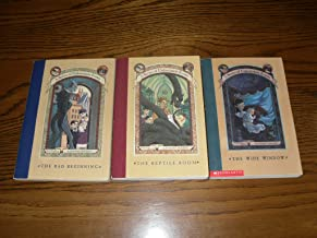 The Trouble Begins: A Series of Unfortunate Events (The Bad Beginning: The Reptile Room; The Wide Window, Volumes 1-3)