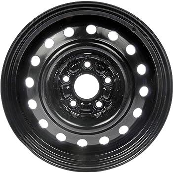 "Dorman 939-106 Steel Wheel with Black Painted Finish (16x6.5""/5x115mm)"