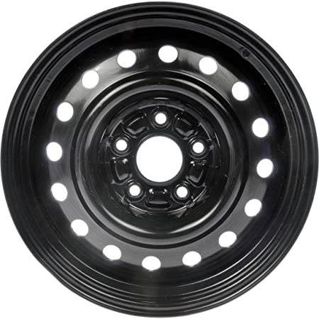 "Dorman 939-106 Steel Wheel with Black Painted Finish (16x6.5""/5x115mm)"