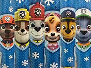 1 Roll Paw Patrol Blue Paw Patrol Gang Christmas Gift Wrapping Paper 70 sq ft