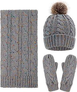 Arctic Paw Adult 3 Piece Winter Bundle - Hat, Scarf, and Mitten Set